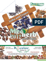 Medherb Green Pages - India and France 2012