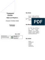 Taxpayers Charter