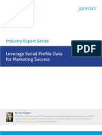 Leverage Social Profile Data for Marketing Success
