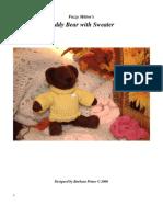 Fuzzy Mitten's Teddy Bear - Fuzzy Mitten's