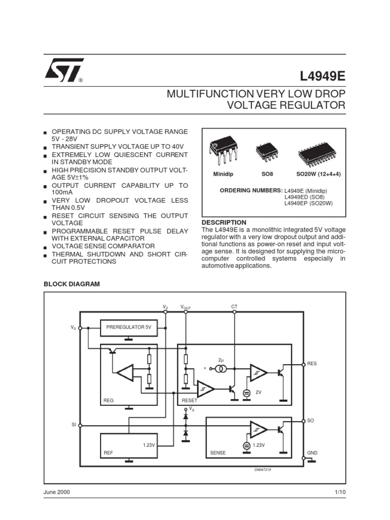L4949 Capacitor Electric Power Icl7135 Typical Application Schematic Diagram And Datasheet