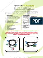 EG.dc Wire Harness Instructions 4.0