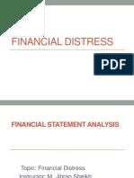 FSA-Lec 3(Financial Distress)