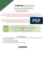 EK Wire Harness Instructions 3.1