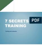 7 Secrets of Training