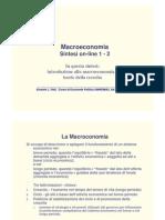 Macro Sintesi_1 2012