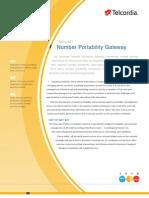 Number Portability Gateway