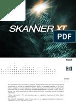 Skanner XT Manual English