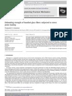 2011 - Debonding Strength of Bundled Glass Fibers Subjected to Stress Pulse Loading - EFM