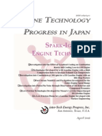 Engine Technology Progress In Japan - SI Engines