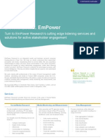 EmPower Research-Corporate Overview