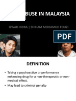 CHP - Drug Abuse in Malaysia