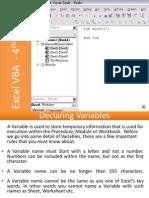 E-Learning Excel VBA Programming Lesson 4