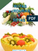 Control Alimentario de Frutas ,Verduras, Hortalizas y Setas