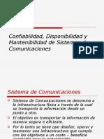 Confiabilidad Disponibilidad y Mantenimiento de Sistemas de Telecomunicaciones