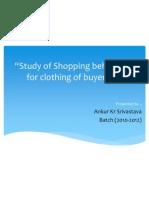 Ankur Srivastava Ppt on Buying Behaviour