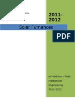 Solar Furnance
