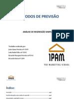 Relatório Final Métodos ( Grupo JLRR)
