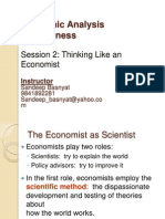Session2-Thinking Like an Economist