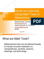 Math Tools Pp