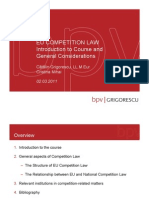 110302 Introduction and General Aspects EU Competition Law