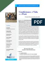 Condiciones de Vida en el Perú (Oct Nov Dic 2011)