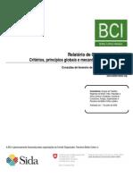 BCI Consultation Report Feb07 June08 Final Por Ext