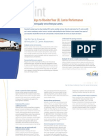 Top Ten Ways Monitor LTL Carrier Performance