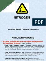 Nitrogen Tool Box Talk