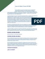 Sistema de Calidad y Normas ISO 9000