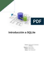 Informe SQLite