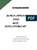 Report on Advance Java
