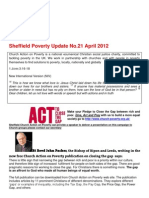 Sheffield Poverty Update 21, April 2012