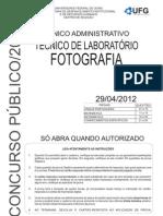 TÉCNICO DE LABORATÓRIO - ufg - fotografia medio