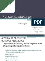 CALIDAD AMBIENTAL (VI)