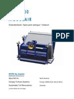 Campey - Koro FTM 1.5mtr - Scarifier Collect - Modular - 964h002-0_ondboek 2011-11