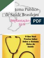 O Sistema Público de Saúde Brasileira
