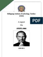 Report on Steve Jobs