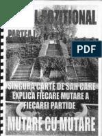 Sahul Pozitional Mutare Cu Mutare - Irving Cerniev Vol 1