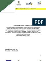 Fortalecimiento de sistemas sostenibles de producción para la conservación en los municipios de San Juan Nepomuceno, Guamo, San Jacinto y Carmen de Bolívar con el modelo finca Montemariana, para el rescate de prácticas agrícolas indígenas ancestrales y agricultura tradicional campesina