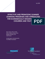effective-and-promising-summer-learning-programs