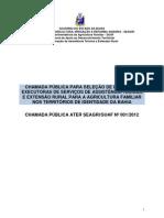 Chamada Publica Ater Seagri Suaf 001 2012