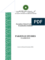 Pakistan Studies