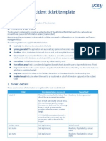 ITIL_Sample Incident Ticket Template