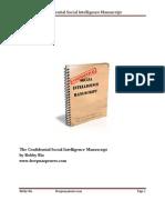 Confidential Social Intelligence Manuscript