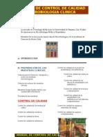 Manual de Control de Calidad en Microbiologia Clinica