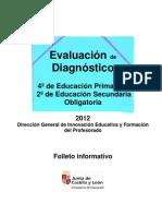 Folleto informativo evaluación de diagnóstico 2011-2012