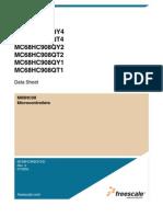 Datasheet MC908QY4