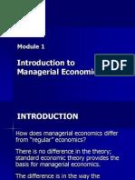 01 Intro to Managerial Economics