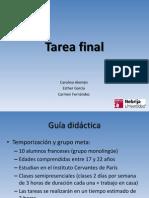 Tarea Final
